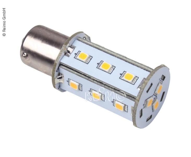 LED BA15S, 18 SMD, 2,5W