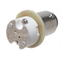 LED Adapter BA15S auf G4