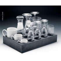 Univers.Glas+Tassenhalter